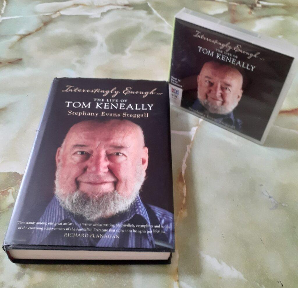 TOM KENEALLY, book